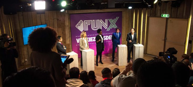 FunX jongerendebat in Humanity House