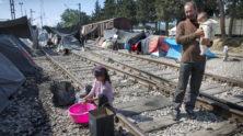 Vluchtelingenkamp, Griekse grensplaats - Humanity House