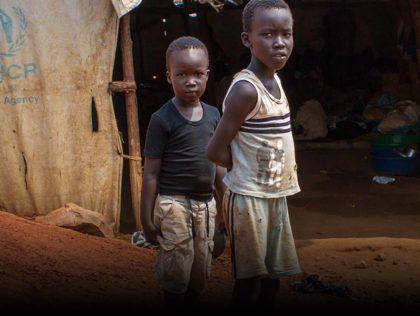 Jongere vluchtelingen uit Soedan - Humanity House