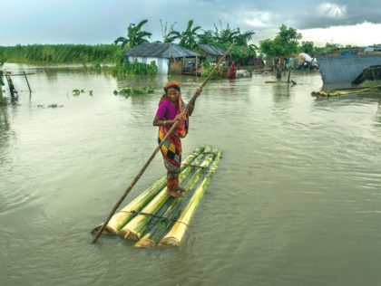 Bangladesh flood - Humanity House