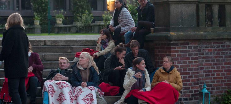 Open Air Cinema Peace Palace - Humanity House