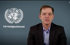 Screenshot Michel Kerres NRC video VN veiligheidsraad