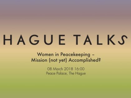 Women in Peacekeeping - Humanity House
