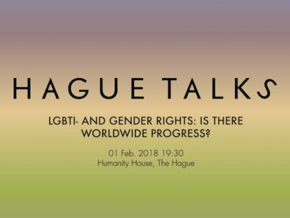 Lgbti- en genderrechten HagueTalks- Humanity House