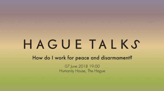 How do I work for peace and disarmament - Humanity House