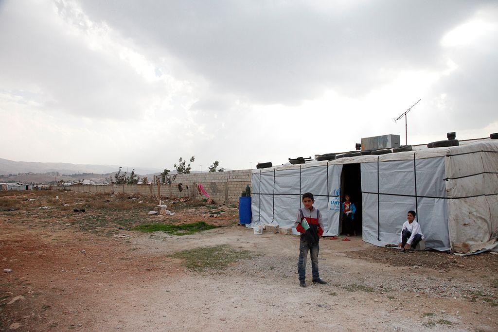 Lebanon refugee camp - Humanity House