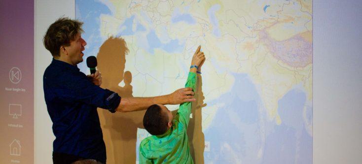 Lancering digiles van Unicef: 'Kinderen op de Vlucht' in Humanity House