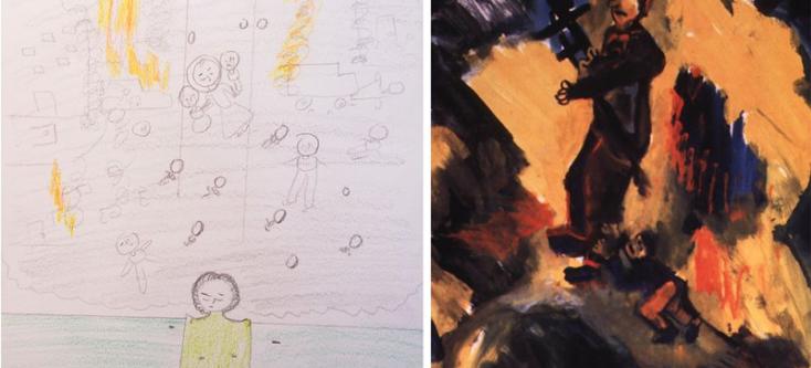 Hoe getraumatiseerde kinderen de wereld zien door hun tekeningen 5